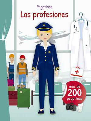 PEGATINAS - LAS PROFESIONES