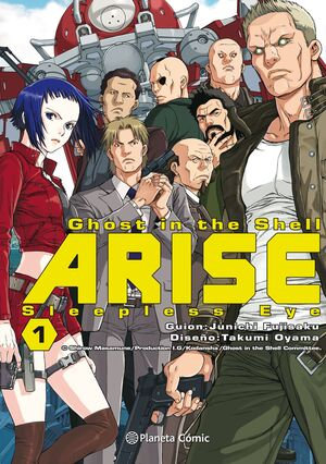 GHOST IN THE SHELL ARISE Nº 01/07
