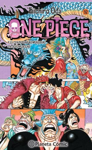 ONE PIECE Nº 92