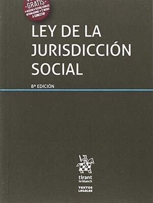 LEY DE LA JURISDICCIÓN SOCIAL 8ª EDICIÓN 2017