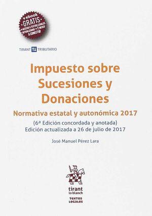 IMPUESTO SOBRE SUCESIONES Y DONACIONES 6ª EDICIÓN