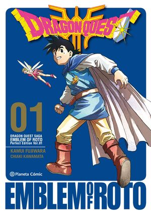 DRAGON QUEST EMBLEM OF ROTO Nº 01/15