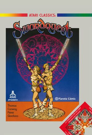 SWORDQUEST DE ROY THOMAS Y GEORGE PÉREZ