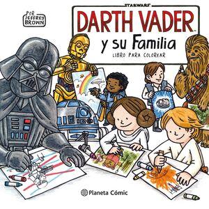 STAR WARS DARTH VADER Y SU FAMILIA LIBRO PARA COLOREAR