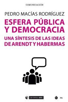 ESFERA PÚBLICA Y DEMOCRACIA