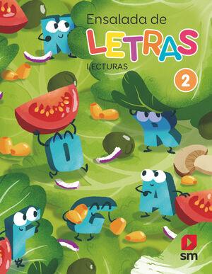 LECTURAS: ENSALADA DE LETRAS. 2 PRIMARIA. MÁS SAVIA