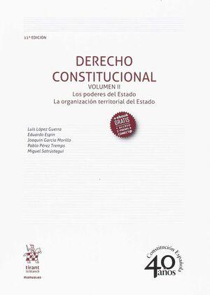 DERECHO CONSTITUCIONAL VOLUMEN II