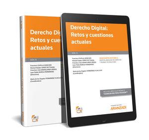 DERECHO DIGITAL: RETOS Y CUESTIONES ACTUALES (PAPEL+E-BOOK)