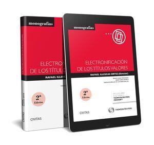 ELECTRONIFICACIÓN DE LOS TÍTULOS VALORES (PAPEL+E-BOOK)