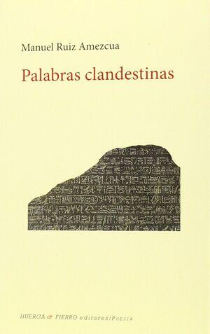 PALABRAS CLANDESTINAS