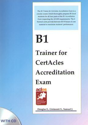 B1 TRAINER FOR CERTACLES ACCREDITATION EXAM