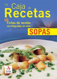 LA CAJA DE RECETAS: SOPAS