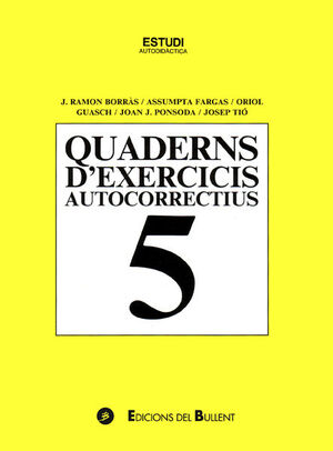 QUADERNS D'EXERCICIS AUTOCORRECTIUS 5