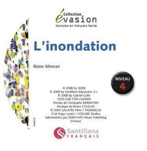 EVASION NIVEAU 4 L'NONDATION + CD