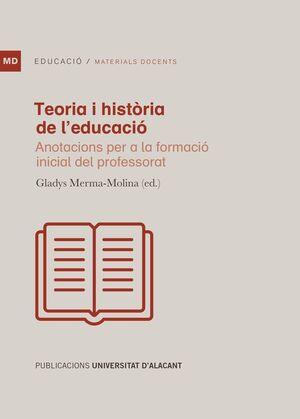 TEORIA I HISTÒRIA DE L´EDUCACIÓ