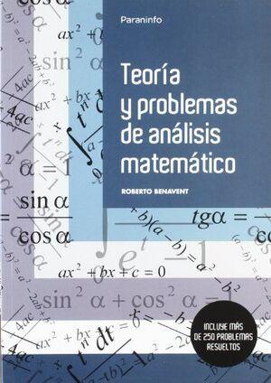 TEORÍA Y PROBLEMAS DE ANÁLISIS MATEMÁTICO
