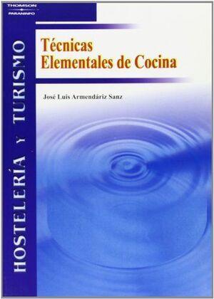 TÉCNICAS ELEMENTALES DE COCINA