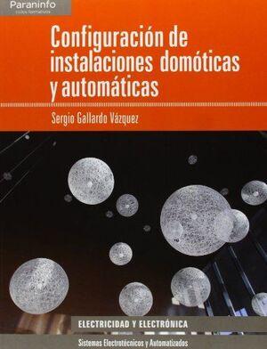 CONFIGURACIÓN DE INSTALACIONES DOMÉSTICAS Y AUTOMÁTICAS