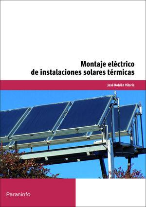 MONTAJE ELÉCTRICO DE INSTALACIONES SOLARES TÉRMICAS