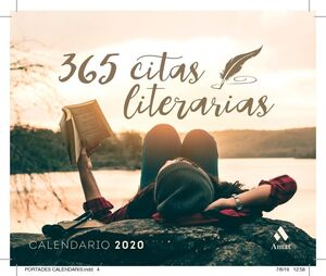 365 CITAS LITERARIAS. CALENDARIO 2020