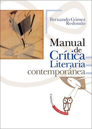 MANUAL DE CRÍTICA LITERARIA CONTEMPORÁNEA