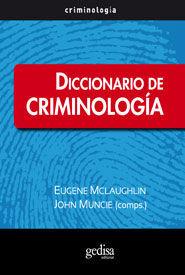 DICCIONARIO DE CRIMINOLOGÍA
