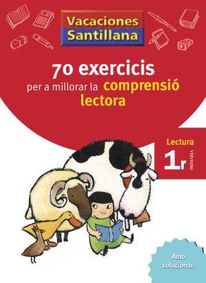 VACACIONES SANTILLANA 70 EXERCICIS PER A MILLORAR LA COMPRENSIO LECTORA 1 PRIMAR