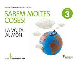 SABEM MOLTES COSES NIVELL 3 LA VOLTA AL MON