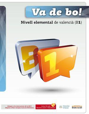 VA DE BO! NIVELL ELEMENTAL DE VALENCIÀ (B1)+CD