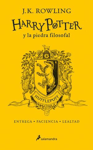 HARRY POTTER Y LA PIEDRA FILOSOFAL (EDICIÓN HUFFLEPUFF DEL 20º ANIVERSARIO) (HAR