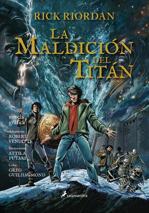 LA MALDICIÓN DEL TITÁN (PERCY JACKSON Y LOS DIOSES DEL OLIMPO [NOVELA GRÁFICA] 3