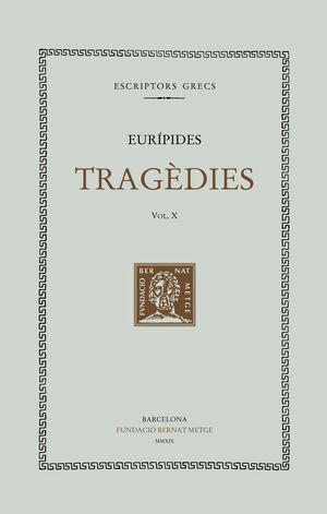 TRAGÈDIES, VOL. X