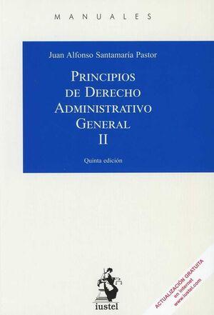 PRINCIPIOS DE DERECHO ADMINISTRATIVO GENERAL.
