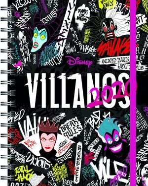 VILLANOS DISNEY. AGENDA 2020