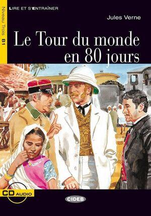 LE TOUR DU MONDE EN 80 JOURS (+CD)
