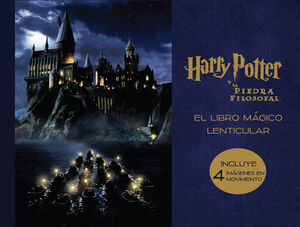 LIBRO MAGICO LENTICULAR DE HARRY POTTER Y LA PIEDRA