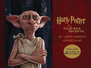 LIBRO MAGICO LENTICULAR DE HARRY POTTER Y LA CAMARA SECRETA
