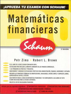 MATEMATICAS FINANCIERAS (SCHAUM)