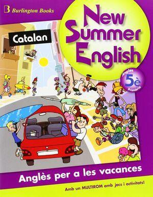 SUMMER ENGLISH ALUM+CD 5 PRIMARIA CATALA