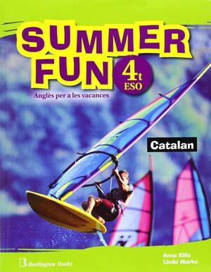 SUMMER FUN ALUM+CD 4 ESO CATALAN