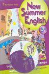 NEW SUMMER ENGLISH 5ºEP + CD