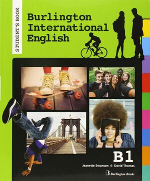 BURLINGTON INTERNATIONAL ENGLISH B1 STUDENT. PET
